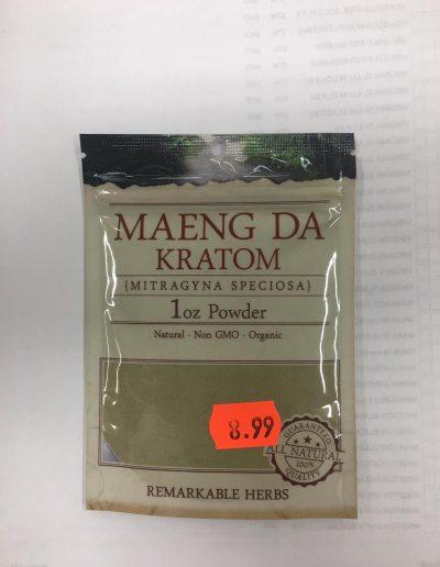 Maeng Da Kratom (Mitragyna Speciosa) 1 oz powder
